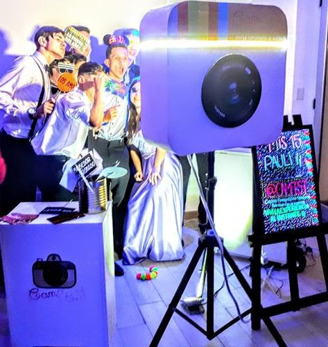 fotocabina - cabina fotográfica - cabina de fotos- eventos