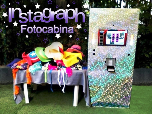 fotocabina instagraph. renta de cabina fotográfica