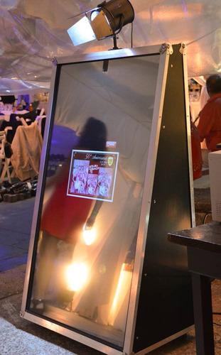 fotocabina marmel espejo magico -alquiler por hora-