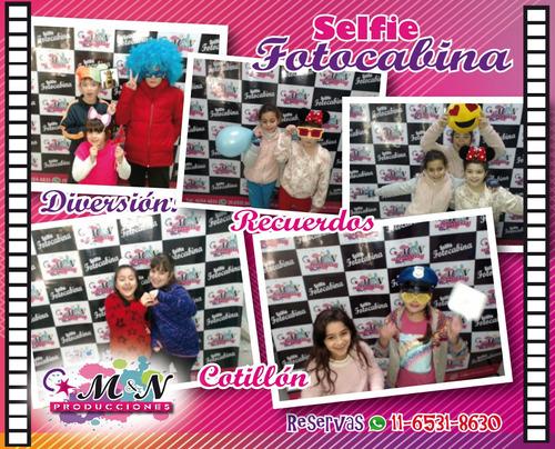 fotocabina selfie, alquiler