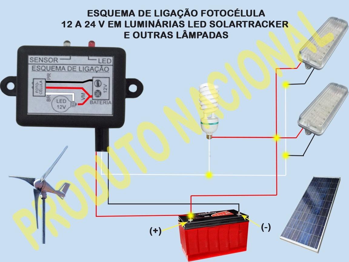 Fotoclula 10 A V 30 Ip65 Energia Solar E Elica R 44 Volt Wiring Diagram Carregando Zoom