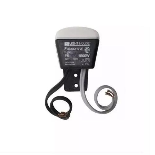 fotocelula fotocontrol light house 1500w 4 cables apto led