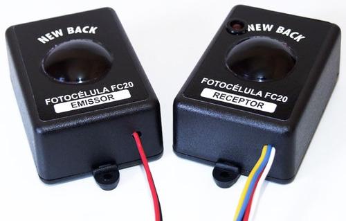 fotocélula p/ portões automáticos/ cancelas