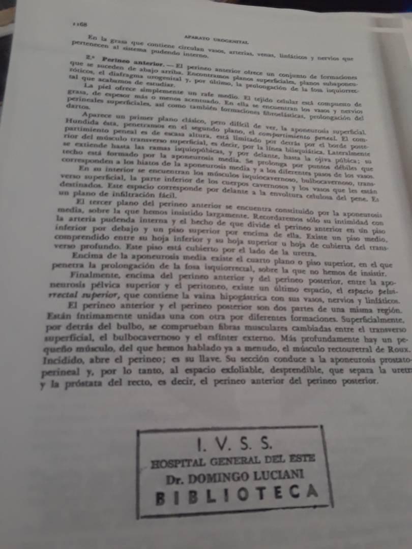Fotocopia Del Libro Anatomía Humana Latarjet - Bs. 1,58 en Mercado Libre