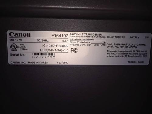 fotocopiadora canon mf4770n 4 en 1. nueva