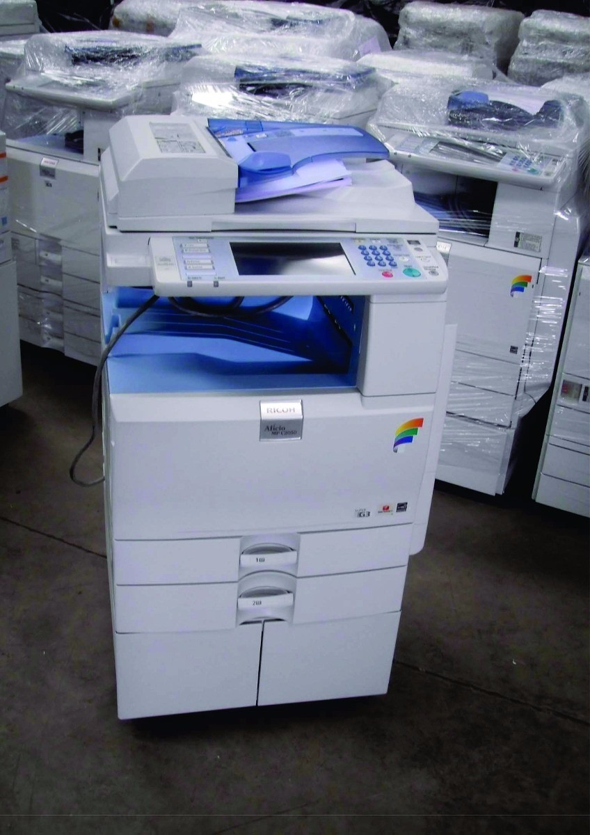 Fotocopiadora Color Laser Ricoh Mp C2550 Printer Escaner