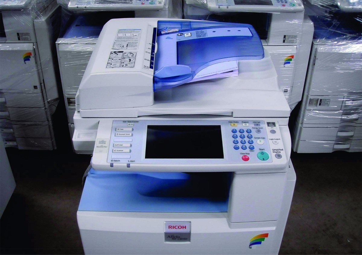 Fotocopiadora Color Laser Ricoh Mp C2550 Printer Escaner