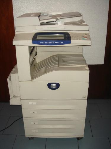 fotocopiadora impresora a3 xerox 123 128 efecto espejo garan