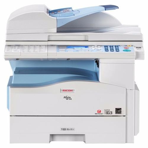 fotocopiadora impresora escaner ricoh mp 201