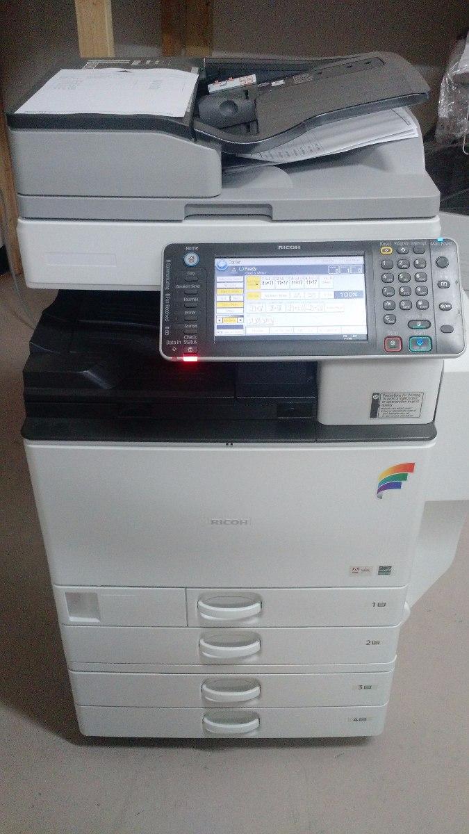 Fotocopiadora Impresora Full Color Ricoh Mp C3002 Laser