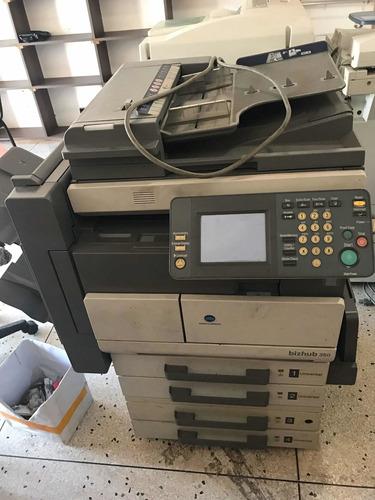 fotocopiadora konica minolta bizhub 350