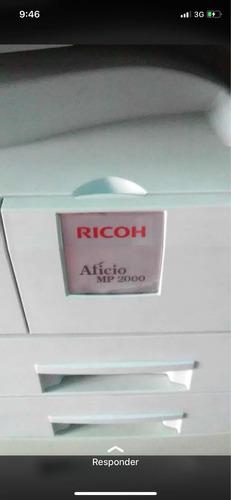 fotocopiadora marca ricoh