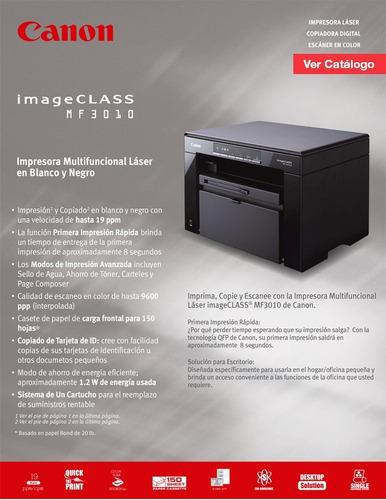 fotocopiadora multifuncional canon mf-3010.