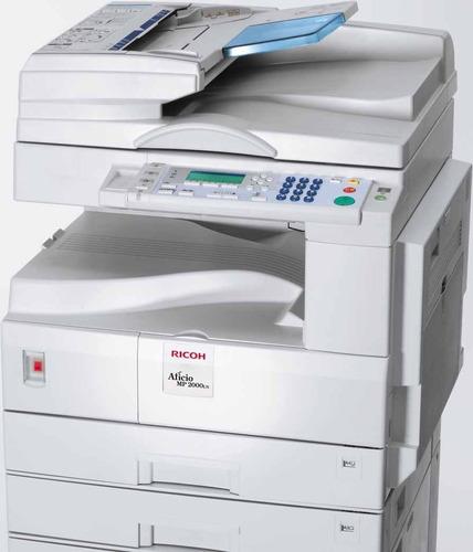 fotocopiadora multifuncional ricoh aficio mp 2000