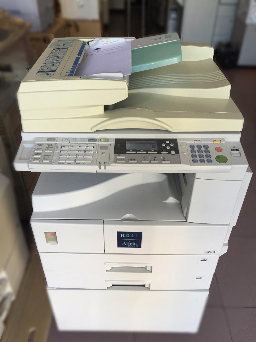 fotocopiadora ricoh 2020d manual