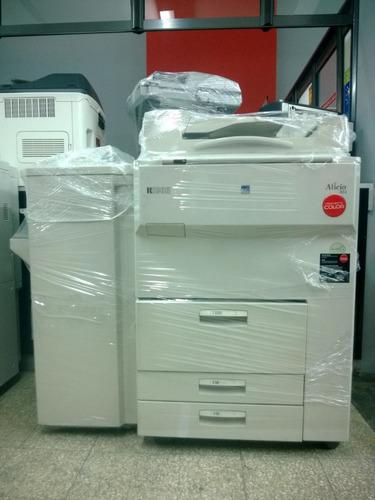 fotocopiadora ricoh aficio 551 / 700 conectividad + finisher