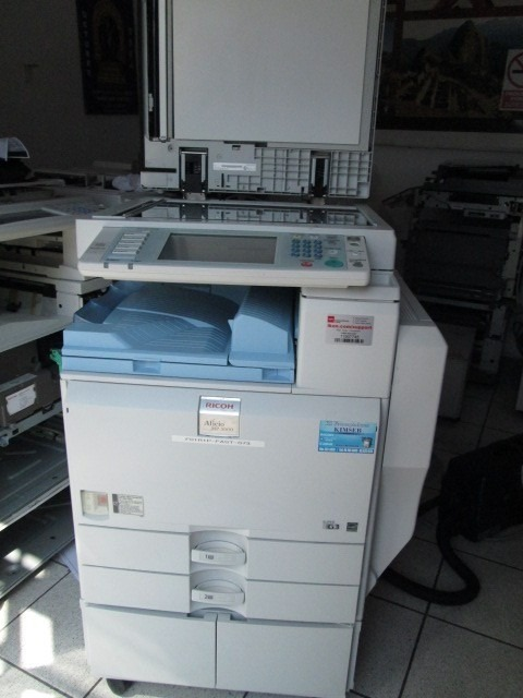 Fotocopiadora Ricoh Mp 2550  2851  3350  3351 Desarme