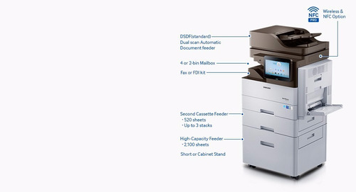 fotocopiadora samsung 5370 red duplex auto scan oferta!!