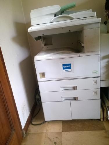 fotocopiadora savin 2527