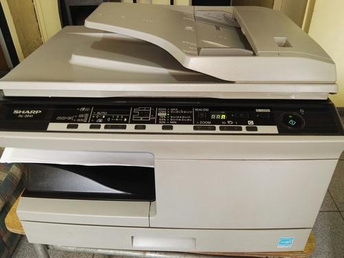 fotocopiadora sharp al2041 semi nueva + envió gratis
