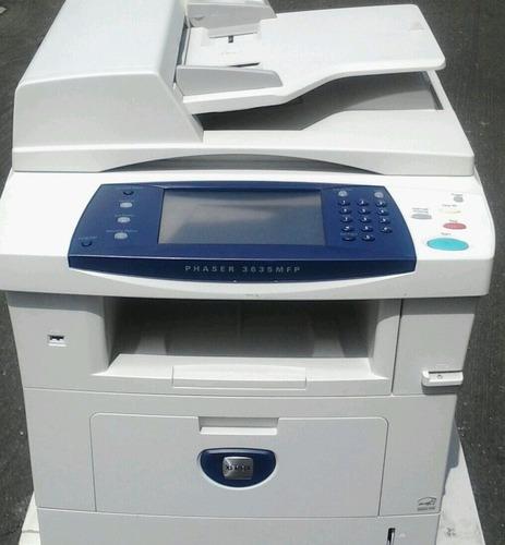 fotocopiadora xerox 3635 a4 reman a nuevo con garantía