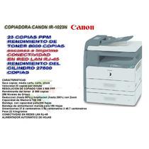 Fotocopiadora Canon Ir 1023if Como Nuevas Al 100% Duplex