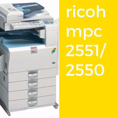 fotocopiadoras laser ricoh mpc 2051/2551 impresora 1650.000
