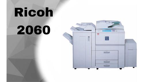 fotocopiadoras ricoh 2060/2075 conectividad 60/75ppm