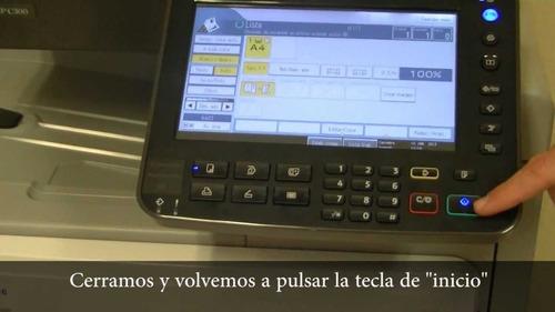fotocopiadoras ricoh mpc 300 gran promocion con garantia
