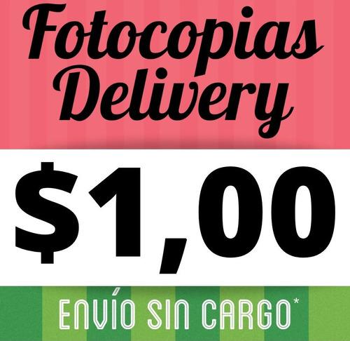 fotocopias delivery - impresiones sin moverte de tu casa