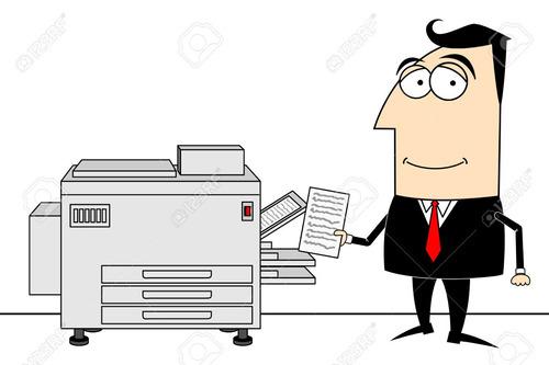 fotocopias-impresión-digitalización de documentos b/n -color