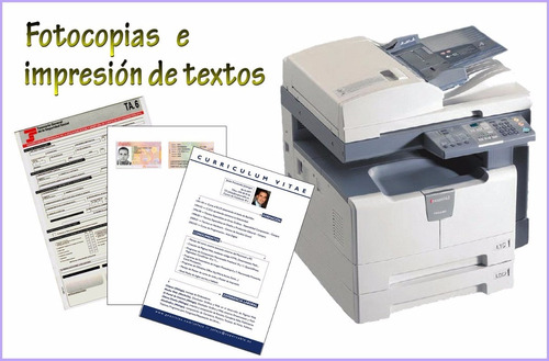 fotocopias impresiones encuadernaciones de archivos y libros