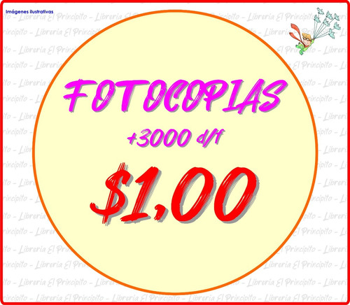 fotocopias / impresiones / ploteos / bajadas color y b/n