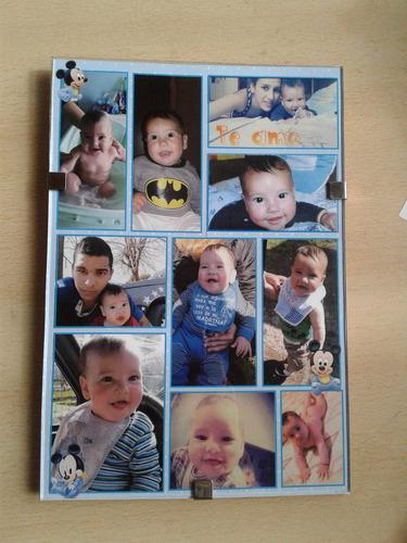 fotocuadros -dia del padre - collage de fotos personalizados