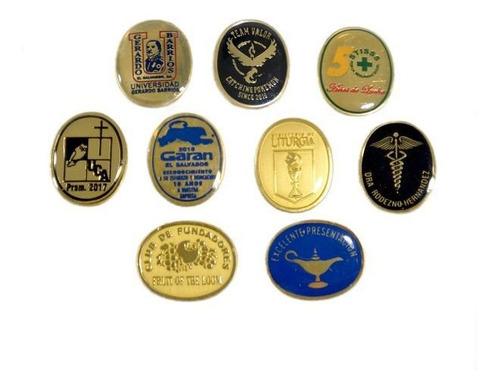 fotograbaciones de medallas pines marbete y artículo de yoyo
