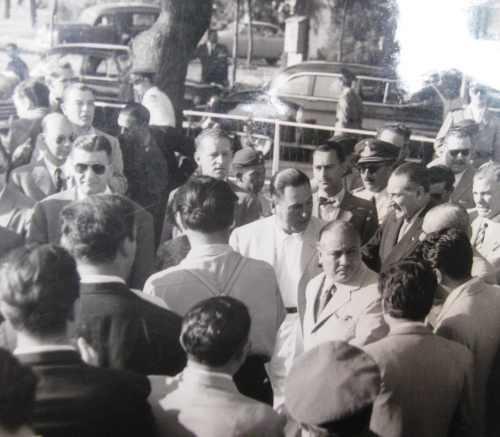 fotografìa de peròn dècada del 50 peronismo