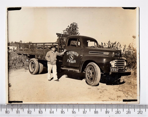fotografia antiga caminhão ford - anos 40 (2)