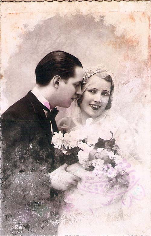 Resultado de imagem para foto antiga casal anos 30