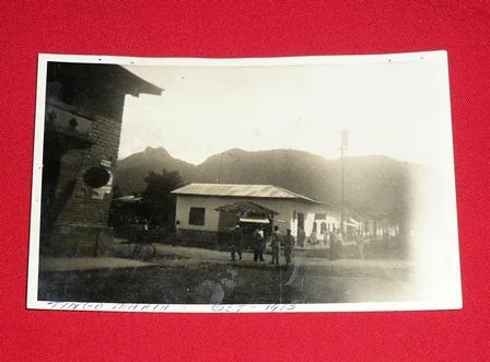 fotografía antigua de tingo maría 1953 blanco y negro rara