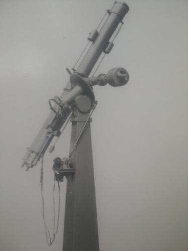 fotografía antigua equatorial 160 mm.