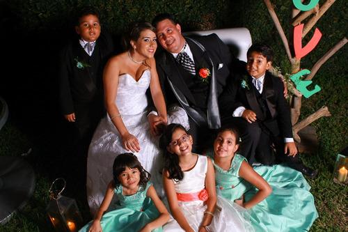 fotografía bodas y quince años