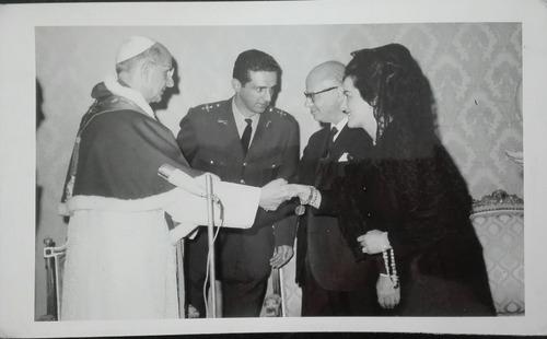 fotografia carlos lleras papa pablo vl foto sady 1968