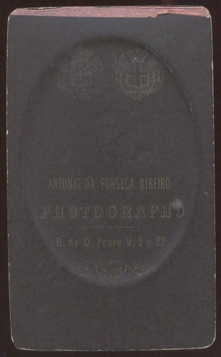fotografia carte de visite - a. fonseca