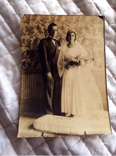 fotografia casamento antiga