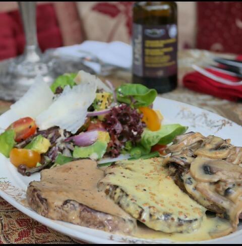 fotografía de alimentos. para menú y redes sociales