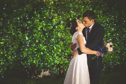 fotografía de matrimonio
