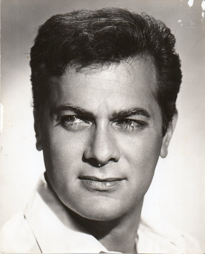 fotografia del actor americano tony curtis