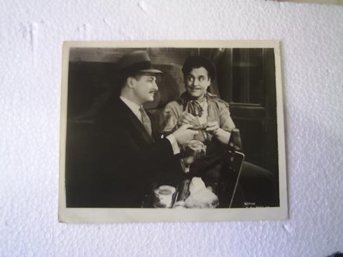 fotografía del actor leo carrillo de una película en b/n