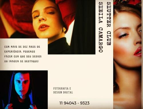 fotografia e designer digital