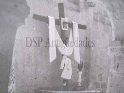 fotografía en b/n de monasterio de cayma arequipa - perú.
